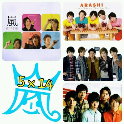 Arashi 5X14